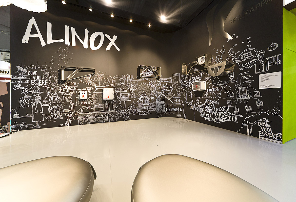 Alinox app catalogo stand